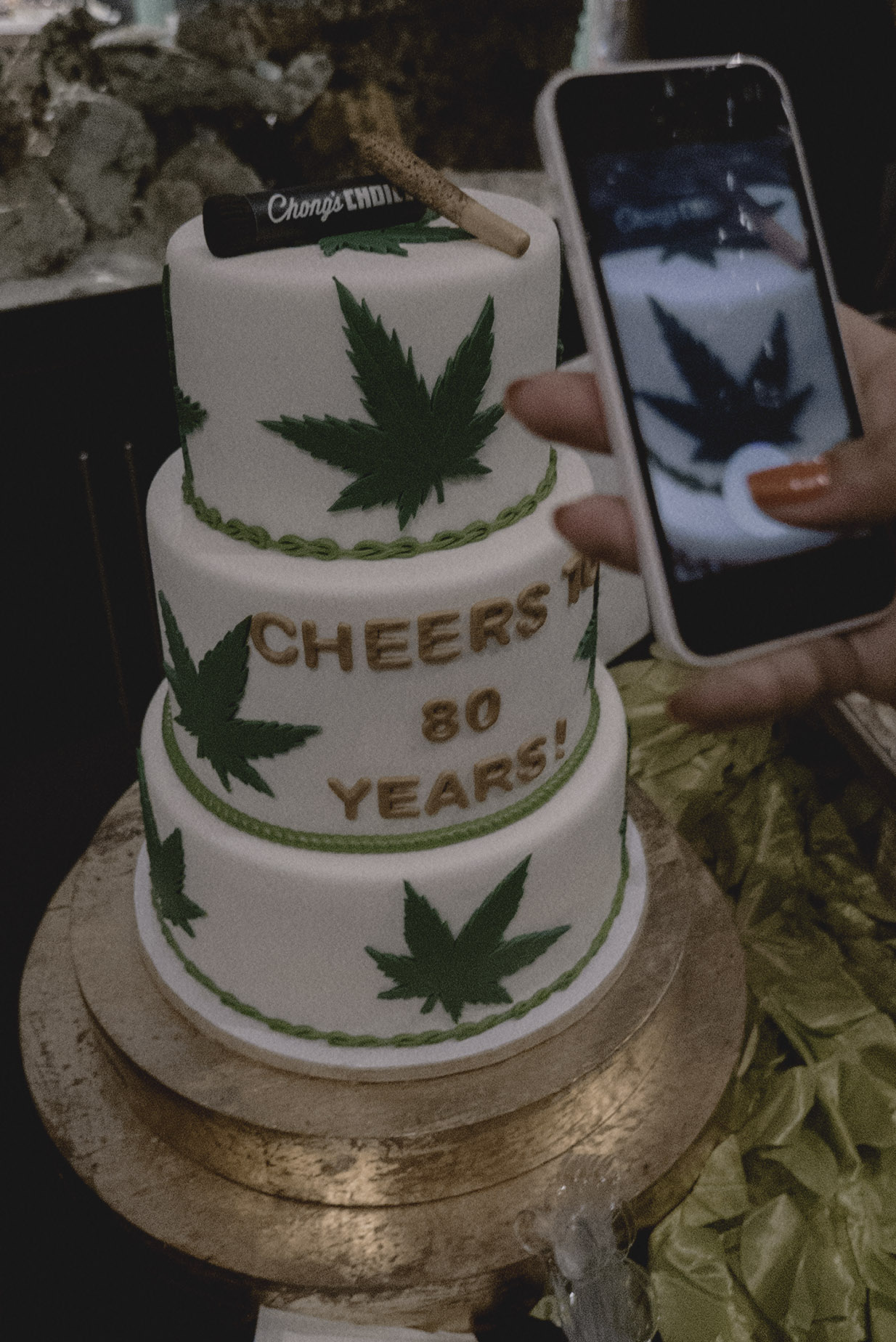 tommy chongs birthday cake