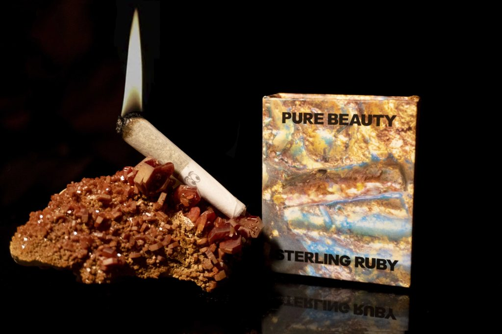 STERLING-PURE BEAUTY STONED Fox